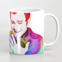 klaine Mugs featuring Joy in Color by Jen K