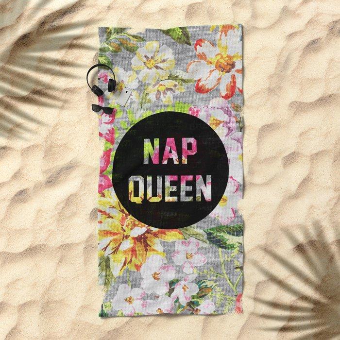 Nap Queen Beach Towel