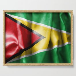 Guyana Flag Serving Tray