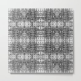 Ridiculously Intricate Digital Pattern Metal Print