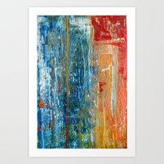 Beauty In Chaos Art Print