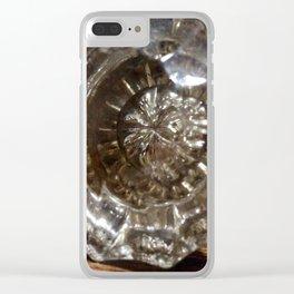 Glass door knob antique Clear iPhone Case