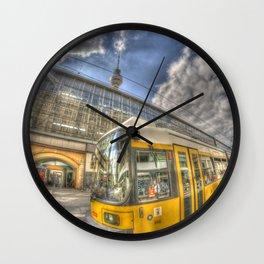 Berlin Tram Wall Clock