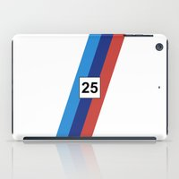 bmw iPad Cases featuring RACING COLOURS- BMW RACING by MATT WARING