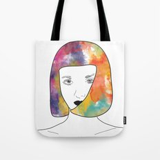 face I Tote Bag