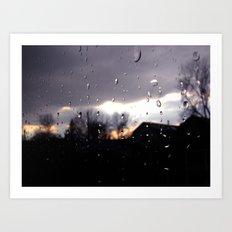 just like raindrops Art Print
