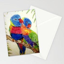 Aboriginal Art - Birds Stationery Cards