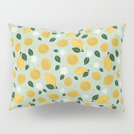 Summer Lemon Pillow Sham
