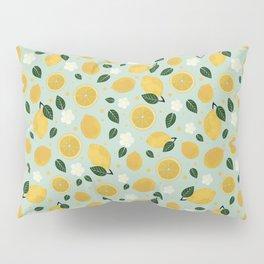 Summer Lemon Pillow Sham