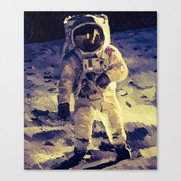 Walk of The Moon Man Canvas Print