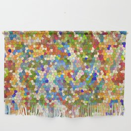 Colorful Tile Mosaic Wall Hanging