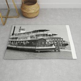 Steamer Natchez Riverboat Rug