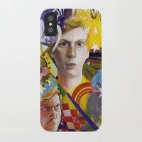 scott pilgrim iPhone & iPod Cases featuring SCOTT PILGRIM VS. MICHAEL CERA by spatsula