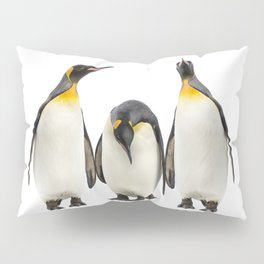 Three Penguins Pillow Sham