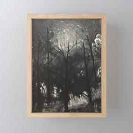 Moonlit Whispers Framed Mini Art Print