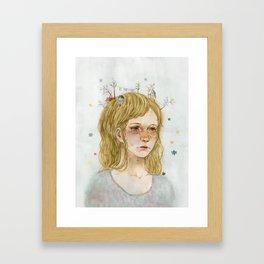 Homesickness Framed Art Print