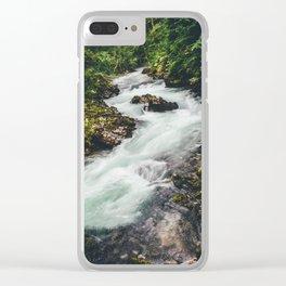 Vintgar Gorge, 2 Clear iPhone Case