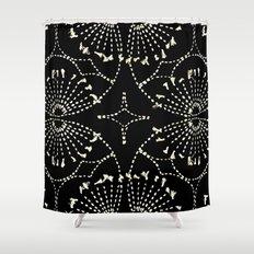 Noir Tapestry Shower Curtain