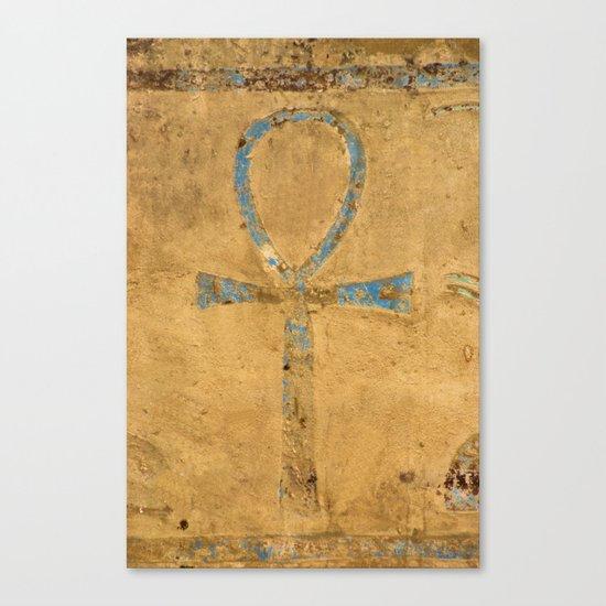 Luxor Dendera Ankh 2 Canvas Print