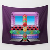 totem Wall Tapestries featuring Totem by Turul