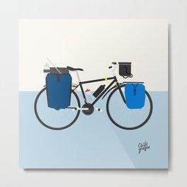 cicloviajera Metal Print