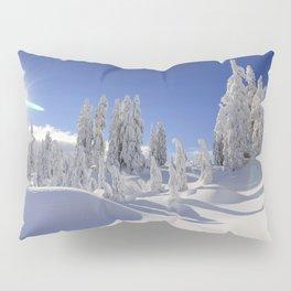 Snow Top Mountains Pillow Sham