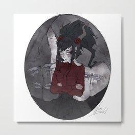 Cameo Nina Metal Print