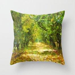 Dappled Light of DayDreams Throw Pillow