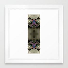 Marbled Mountains 003 Framed Art Print
