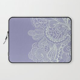 Abstract Nature in Ultraviolet Laptop Sleeve