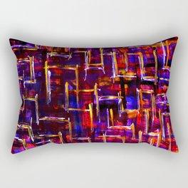 The Borderline Maze Rectangular Pillow