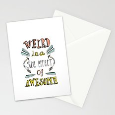 Weird & Awesome Stationery Cards
