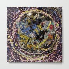Abstract: Circle of Colors Metal Print