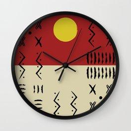 Blazing Sunrise Wall Clock