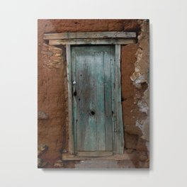 5ft Door to a Lost Past Metal Print