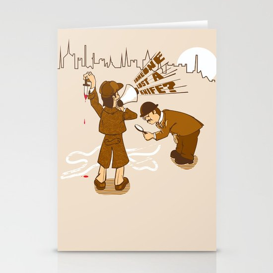 The worst Detective EVER Stationery Cards