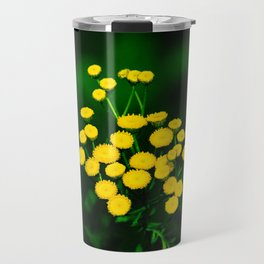 Green Jacket With Golden Buttons Travel Mug