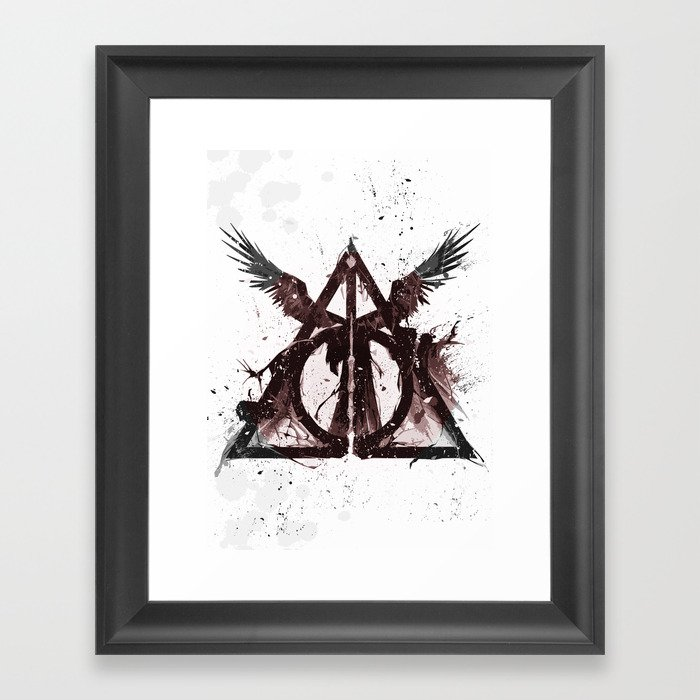 Deathly Hallows Gerahmter Kunstdruck