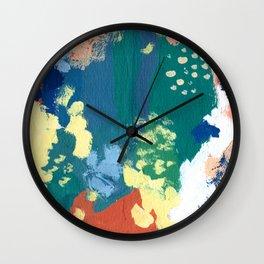 Splashes Wall Clock