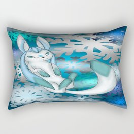 Winter Glaceon Rectangular Pillow