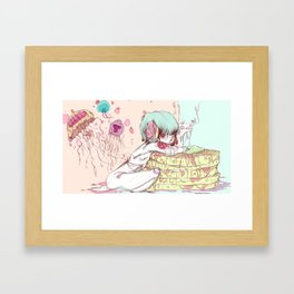 Learning Comes in Layers Framed Art Print