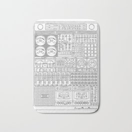 Music Machine Bath Mat