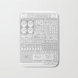Music Machine Bath Mat