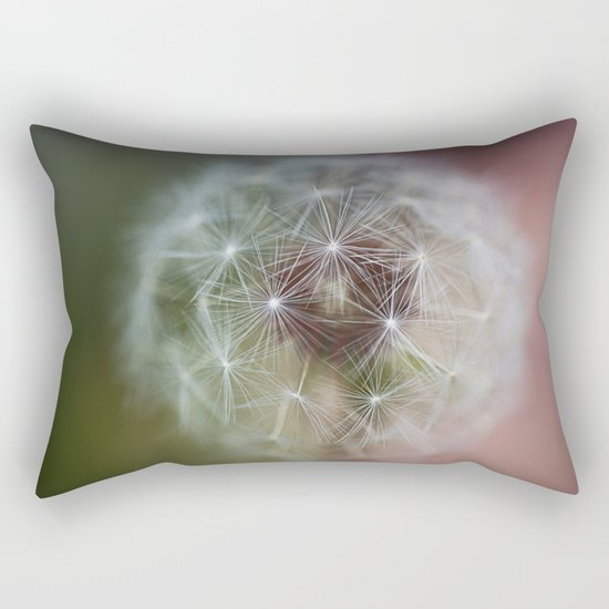 Dandelion Italian Flag Rectangular Pillow