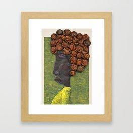 Juana la Cubana Framed Art Print