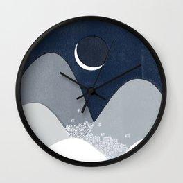 Bleak Midwinter Wall Clock