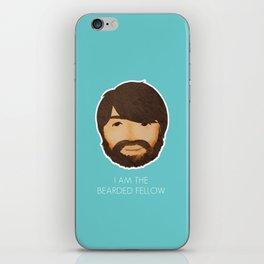 I Am The Bearded Fellow iPhone Skin