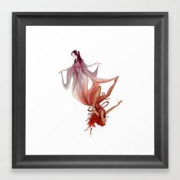 Sacred and Profane Love Framed Art Print