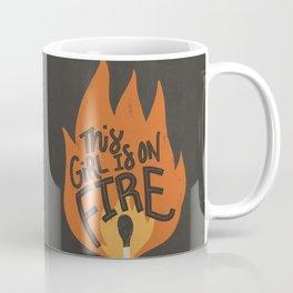 This Girl is on Fire Coffee Mug