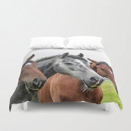 Wonderful Horses Duvet Cover